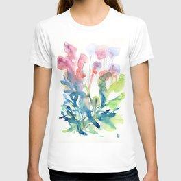 fresh flower art T-shirt