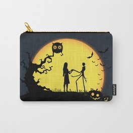 Jack and Sally-Nightmare Carry-All Pouch