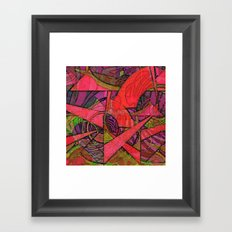 Tropical Farm 2 Framed Art Print