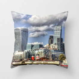 The Waverley and London Throw Pillow
