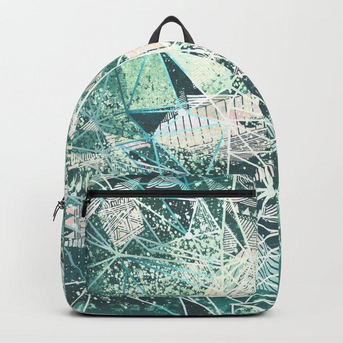 emerald space Backpack