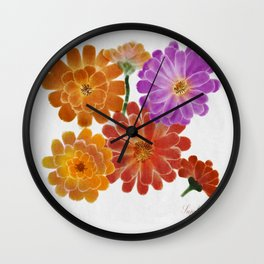 Welcome bouquet  Wall Clock