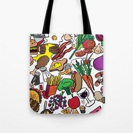 Foodie Tote Bag
