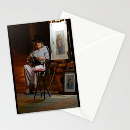 Portrait Artist Stationery Cards