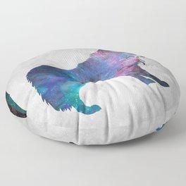 Galaxy Series (Wolf) Floor Pillow