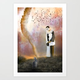 The Fool on the Hill Art Print