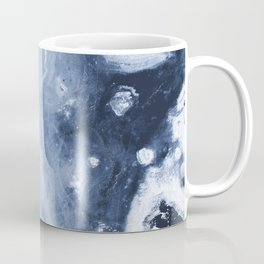 Marble Ice Indigo Coffee Mug