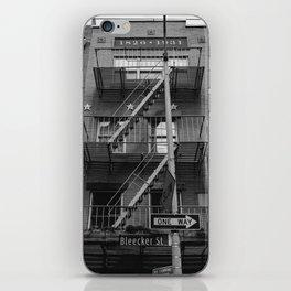 Bleecker Street II iPhone Skin