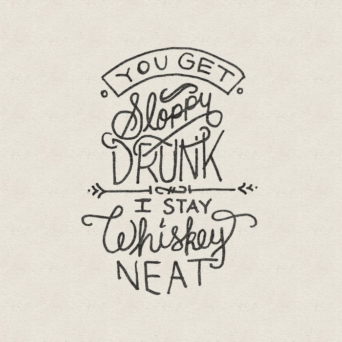 ...I Stay Whiskey Neat Comforters