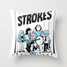 THE STROKES P2 WORLD TOUR DATES 2019 PAHOMAN Throw Pillow