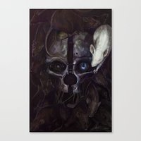 dishonored Canvas Prints featuring Dishonored by MATT DEMINO