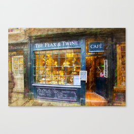 The Flax and Twine Canvas Print