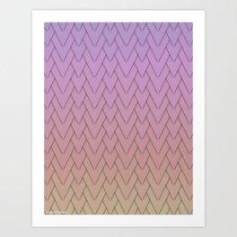 Scalenes Art Print
