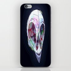 Pastel Skull iPhone & iPod Skin
