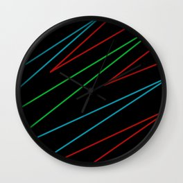 Layout Wall Clock