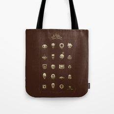 The Exquisite Pop Culture Skulls Museum Tote Bag