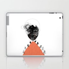 Moonrise mountain (mother earth cries) Laptop & iPad Skin