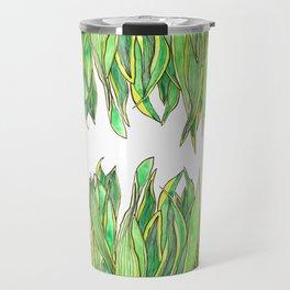 The Snake Plant Travel Mug