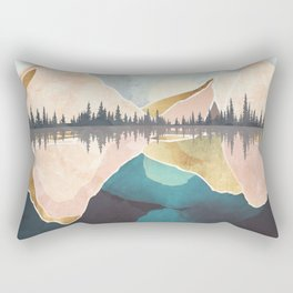 Summer Reflection Rectangular Pillow