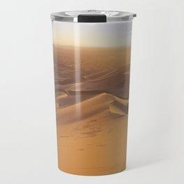 Sunset in the Sahara Desert Travel Mug