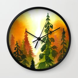 Summers' End II Wall Clock