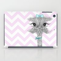 ostrich iPad Cases featuring OsTRICH by Monika Strigel