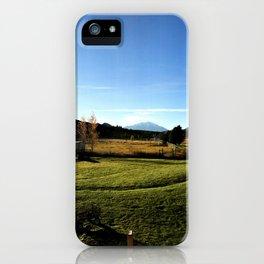 Sunrise with Mount Sopris - Glenwood Springs, CO iPhone Case