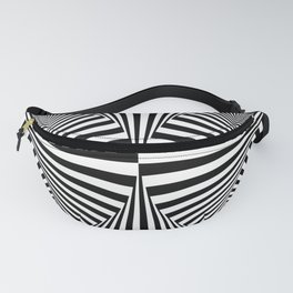 Abstract Geometric Shapes Pattern Fanny Pack