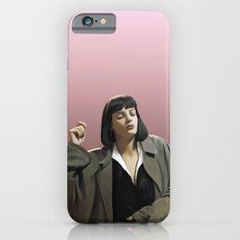 Mia Wallace iPhone Case