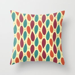 When the leaves come falling down Throw Pillow