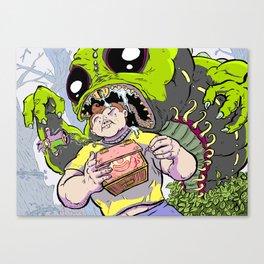 Arthur: The World's Strongest Boy Canvas Print