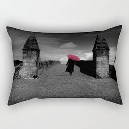 Walking on Old Stirling Bridge Rectangular Pillow