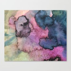 Ink Clouds Canvas Print