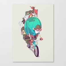Mr. Traveler Canvas Print