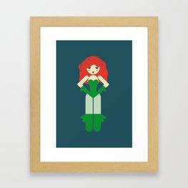 Poison Ivi Framed Art Print