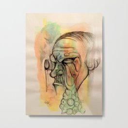 Infected  Metal Print