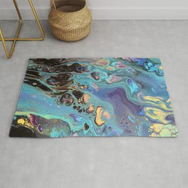 Fluid Waves Rug