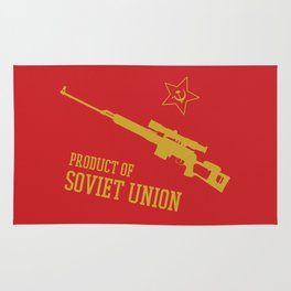 Dragunov SVD (Product of SOVIET UNION) Rug