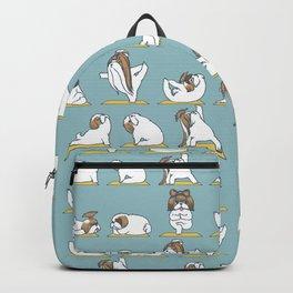 Shih Tzu Yoga Backpack