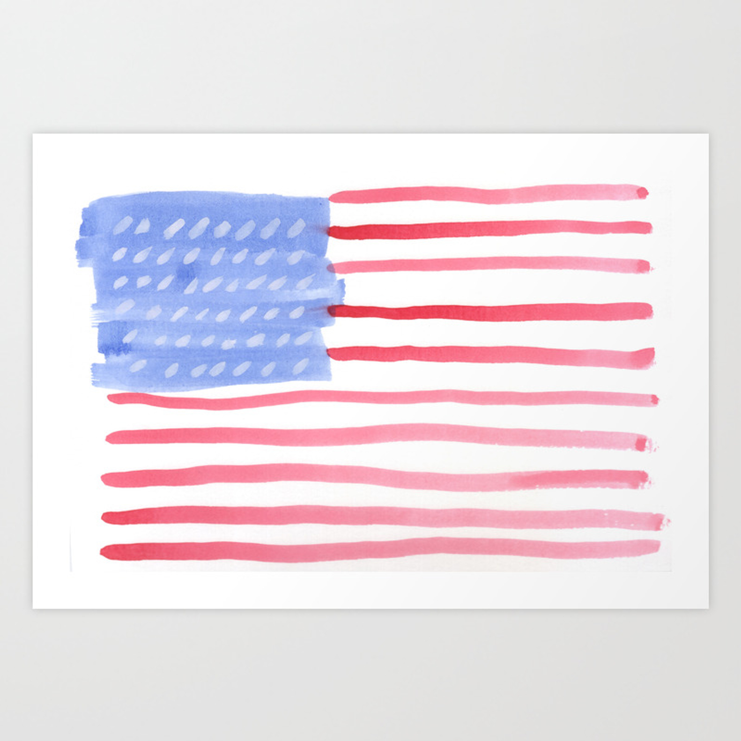 Image Of American Flag 4th Of July