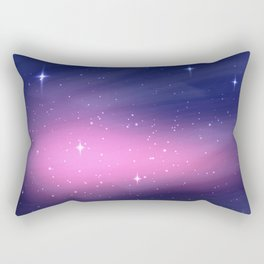 Phoenix Star in Night Galaxy Rectangular Pillow