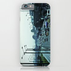 Streets, cars and people. iPhone 6s Slim Case