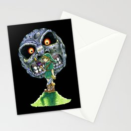 Consume Everything (Black) Stationery Cards
