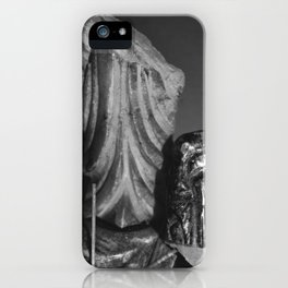 Idols fall. iPhone Case