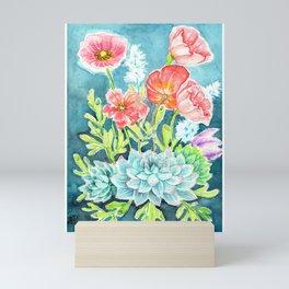 Botanical Aquarelle Mini Art Print
