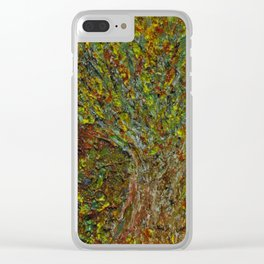 """""""Autumn Tree"""" Clear iPhone Case"""