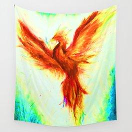 Full Phoenix Wall Tapestry