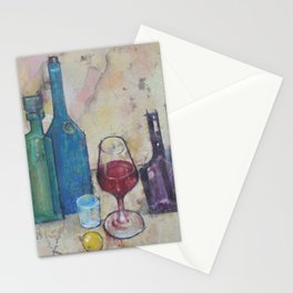 Modern Bottles Stationery Cards