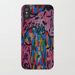 fist or flower iPhone Case