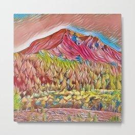 Aspen Forest, Autumn by Jeanpaul Ferro Metal Print